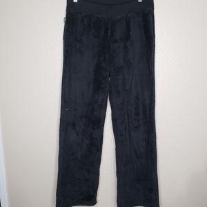 North Face Black Fleece Teddy Pants Size Medium